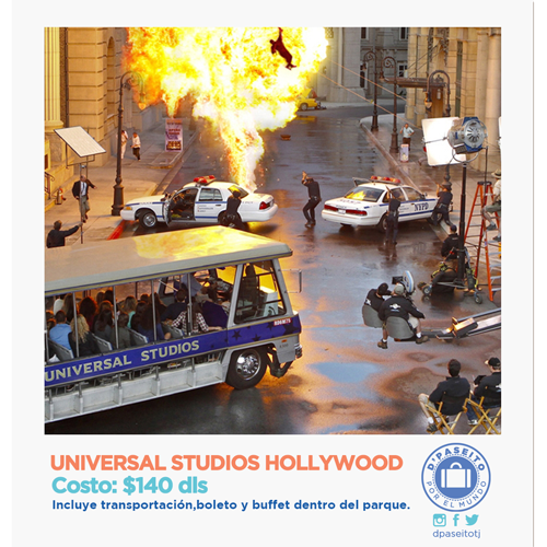 Universal Studios Hollywood!
